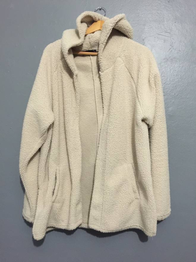 Unknown SHERPA HOODED CARDIGAN Size l - Sweaters & Knitwear for ...