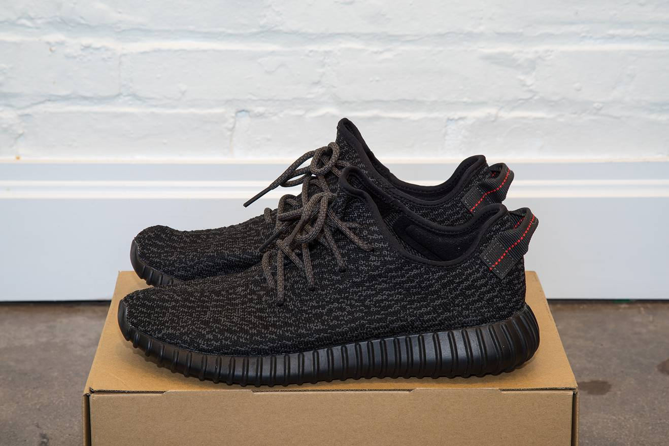 88f3dcd8e ... promo code for adidas adidas yeezy boost 350 pirate black 2015 11.5  size us 11.5 eu