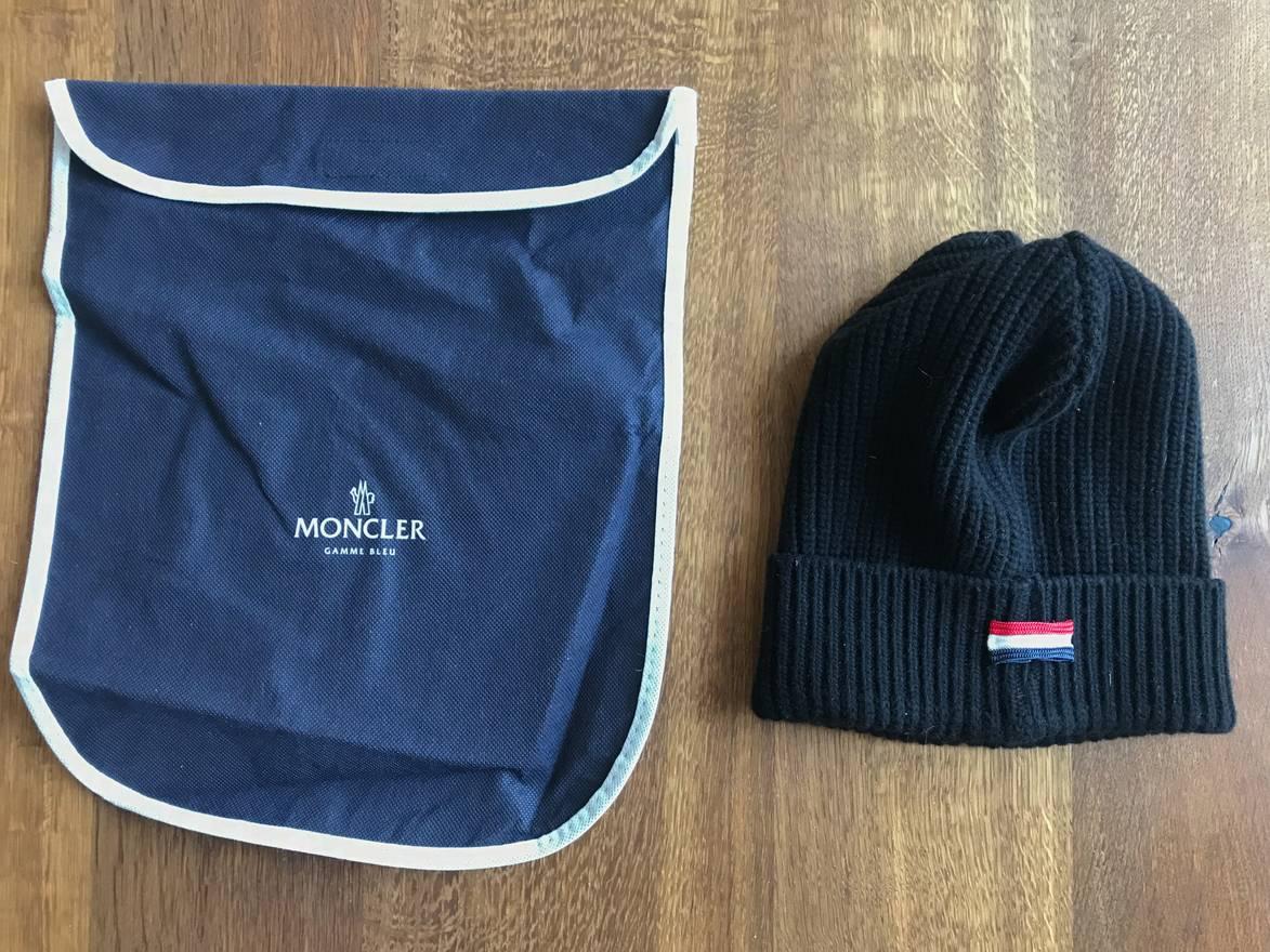 9e3bb6aac8e Moncler - Linea Fashion. Moncler Women s Rib-knit Beanie Hat Navy ...