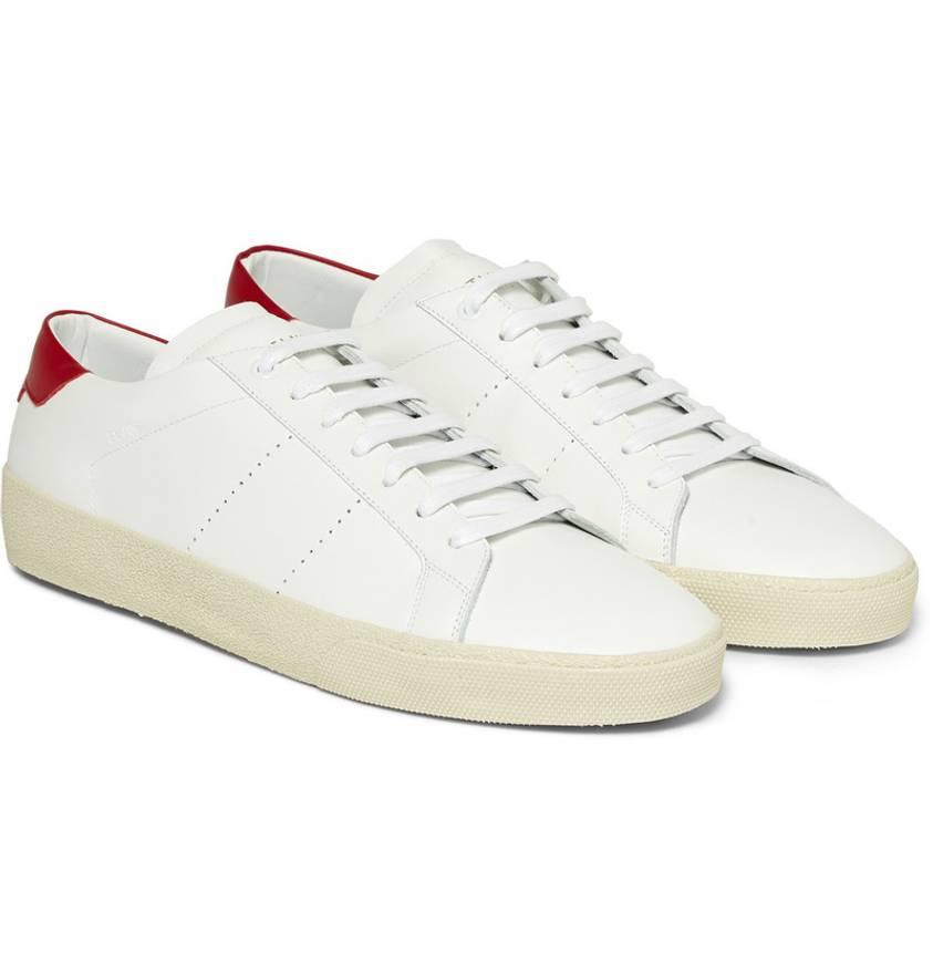 SL/06 classic court sneakers - White Saint Laurent