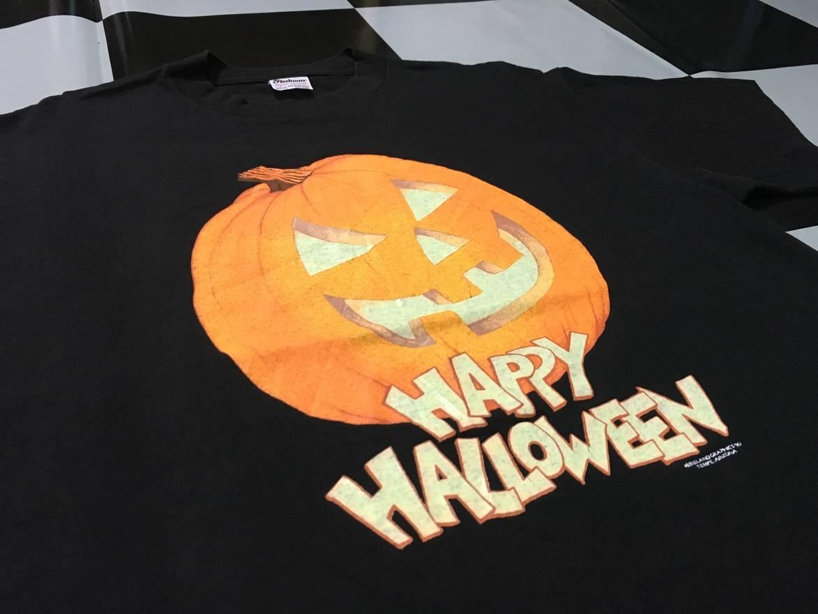 vintage vintage 90s halloween shirt happy halloween glow in the dark shirt excellent condition single stitch