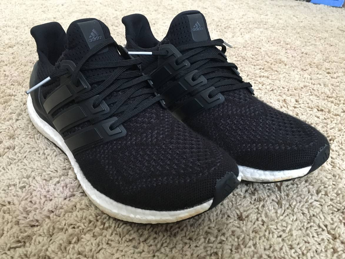 b5b0a7491 ... best price adidas ultra boost core black 1.0 size us 10.5 eu 43 44  8aa03 4fe1c