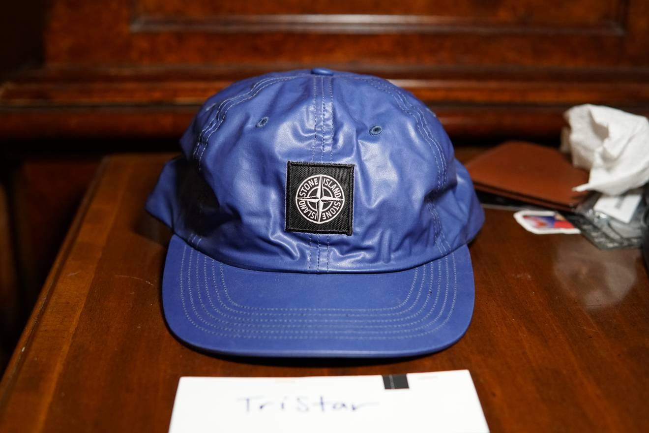 1e4b3c2e ... release date supreme supreme stone island heat reactive hat purple 6  panel cap size one size