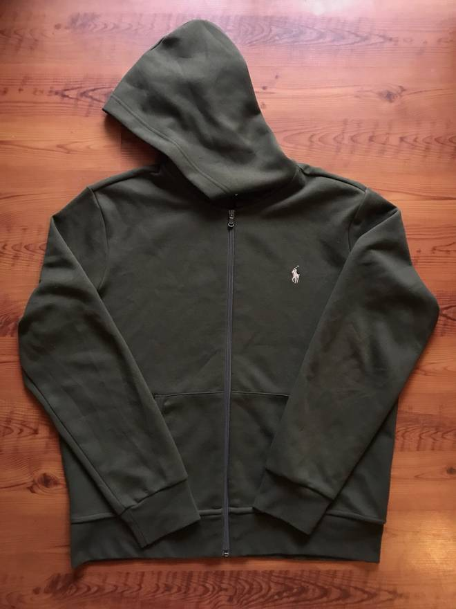 7c52fa95e8 ... discount code for polo ralph lauren polo ralph lauren zip up hoodie  size us l eu