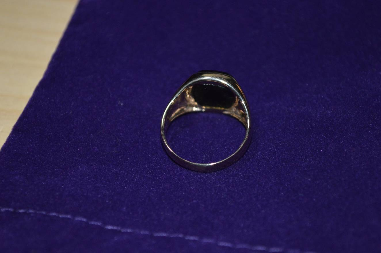 Favorite Supreme Supreme/Playboy Gold Ring Size one size - Jewelry  CU44