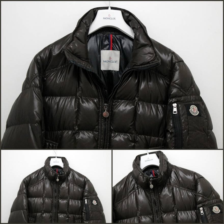 8f1352fe7afe ... purchase moncler authentic moncler auburn mens real down coat size xxl  jacket ever everest size us