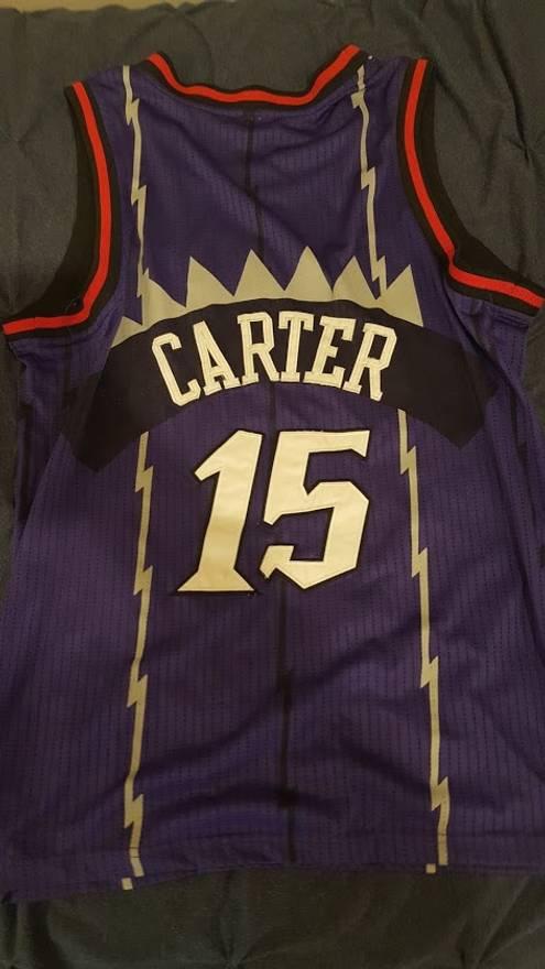 d911d6e5a79 Nike Nike Vince Carter Toronto Raptors vintage jersey Size US M EU 48 .