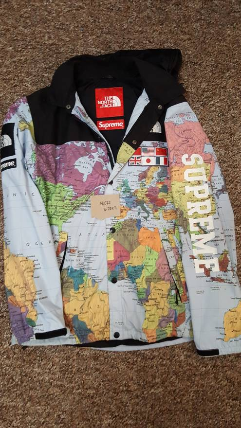 Supreme supreme expedition maps north face m tnf atlas size m supreme supreme expedition maps north face m tnf atlas size us m eu 48 gumiabroncs Image collections