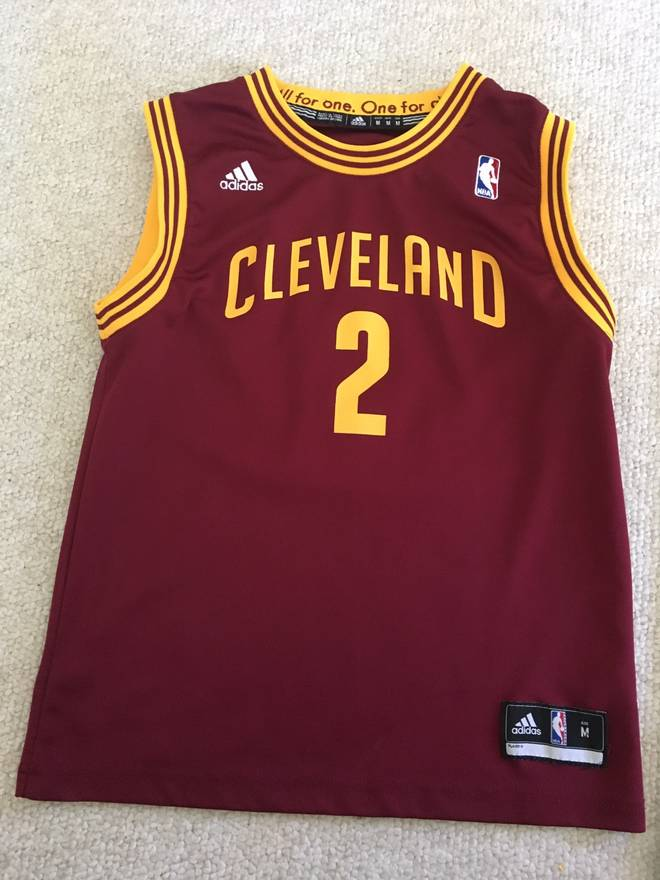 1008c73a0325 ebay adidas nba kyrie irving jersey youth medium size us m eu 48 50 184ae  54dc2