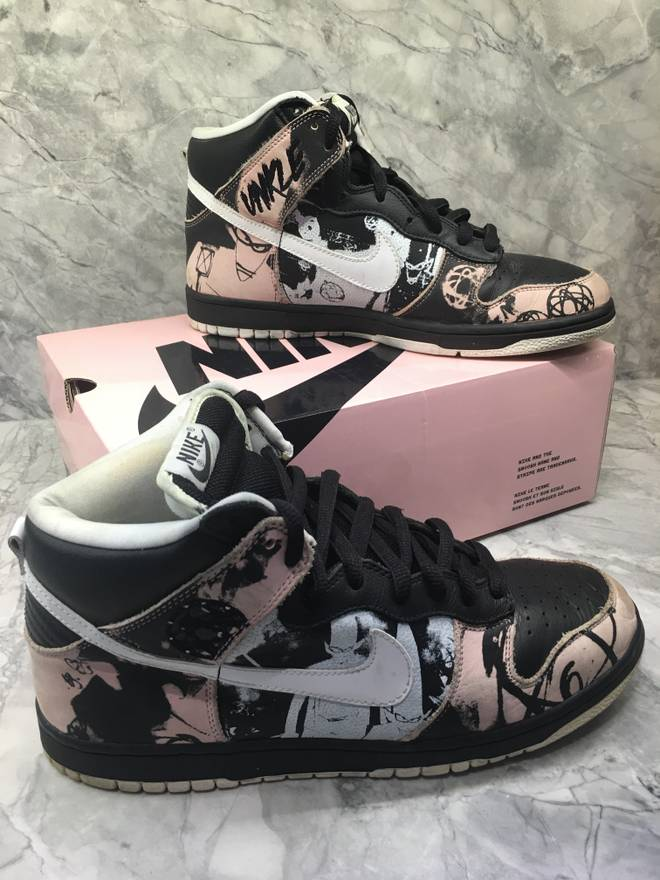new concept 1650d c4dc5 ... carousell 21656 80612  where to buy nike nike dunk high pro sb unkle  futura size us b5d33 060a5