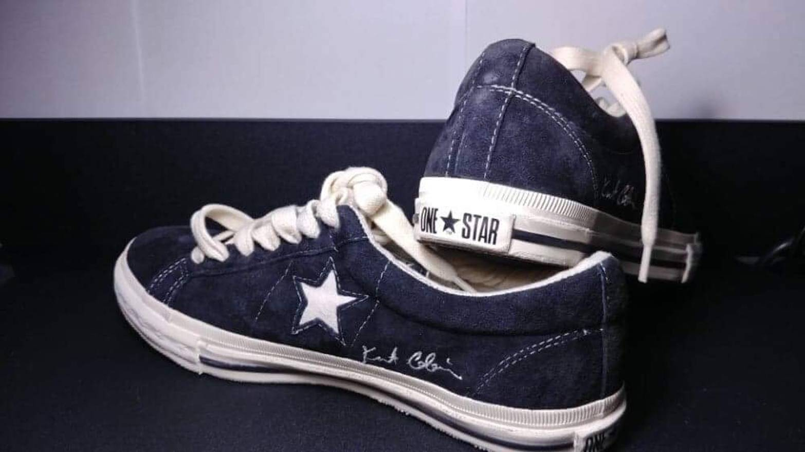 9cd765584b55 ... cheap converse converse one star x kurt cobain size us 7 eu 40 d272f  a25f2