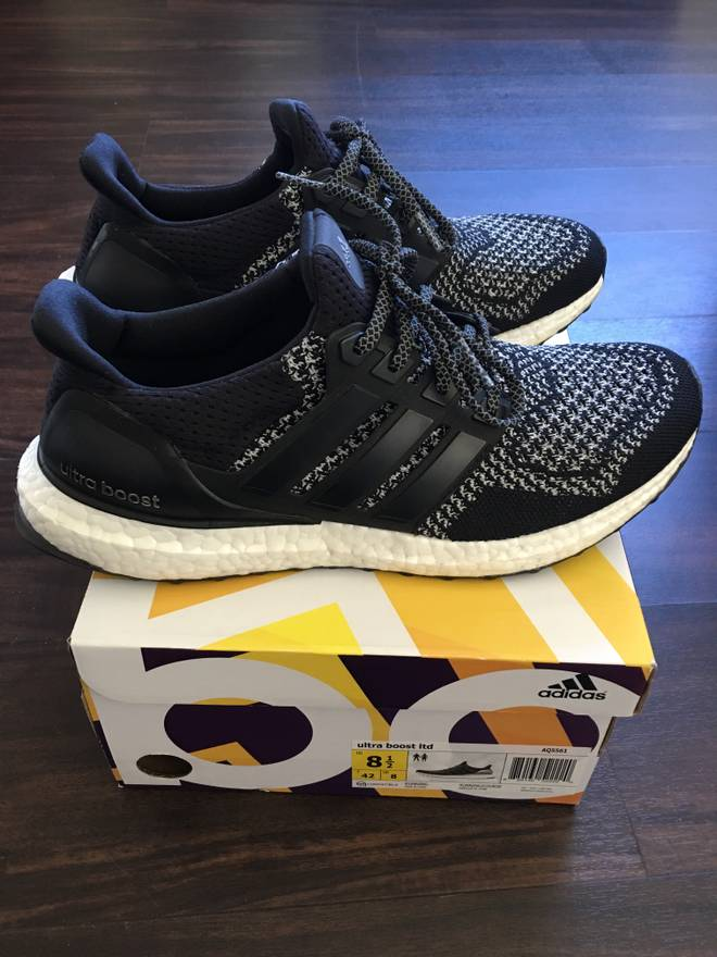 ... italy adidas ultra boost 1.0 ltd black reflective 3m size us 8.5 eu 41  42 fb23d 4ce5e80b9