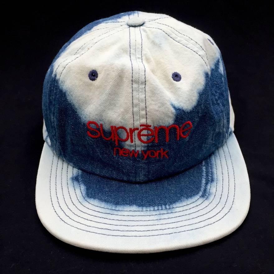b37c940de97 ... uk supreme bleached denim cloud hat size one size 7036b 96d38 ...