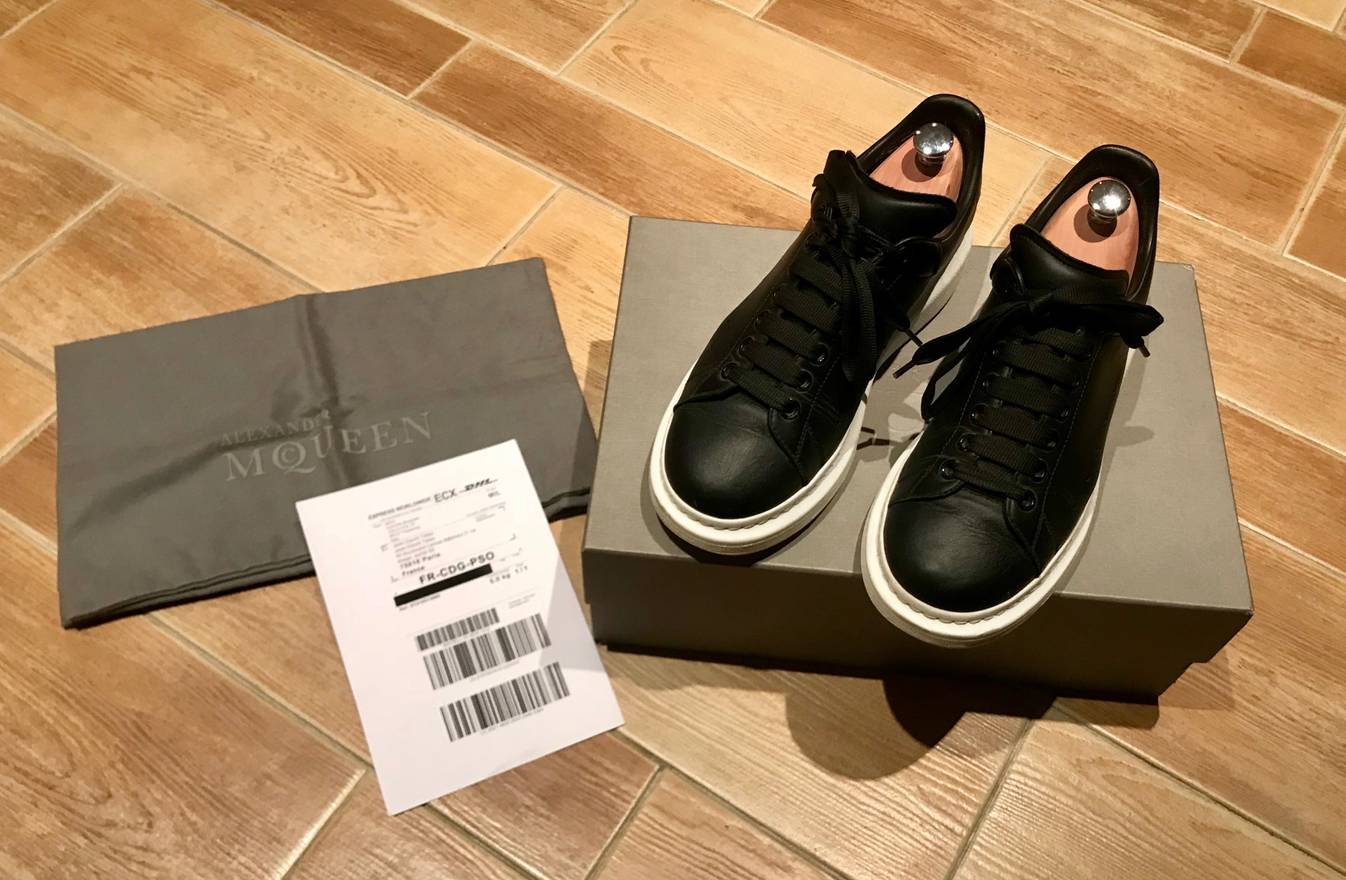 Alexander McQueen Overexaggerated Sole Sneakers Size LowTop - Formal invoice format best online sneaker store