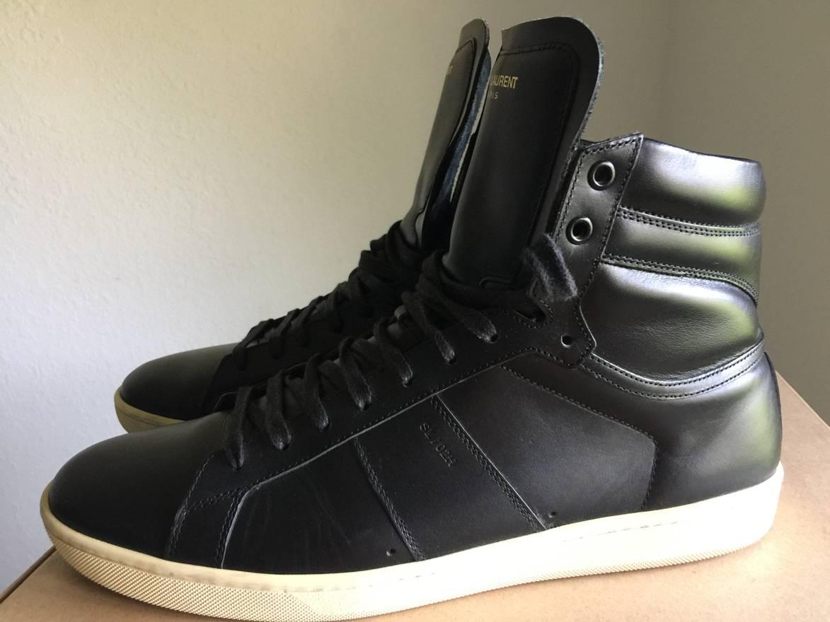Saint Laurent SL/02H High-Top Sneakers