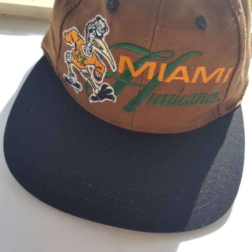 new arrival c5299 84438 ... discount code for vintage vintage miami hurricanes one size cap size  one size ab37c 1eda9