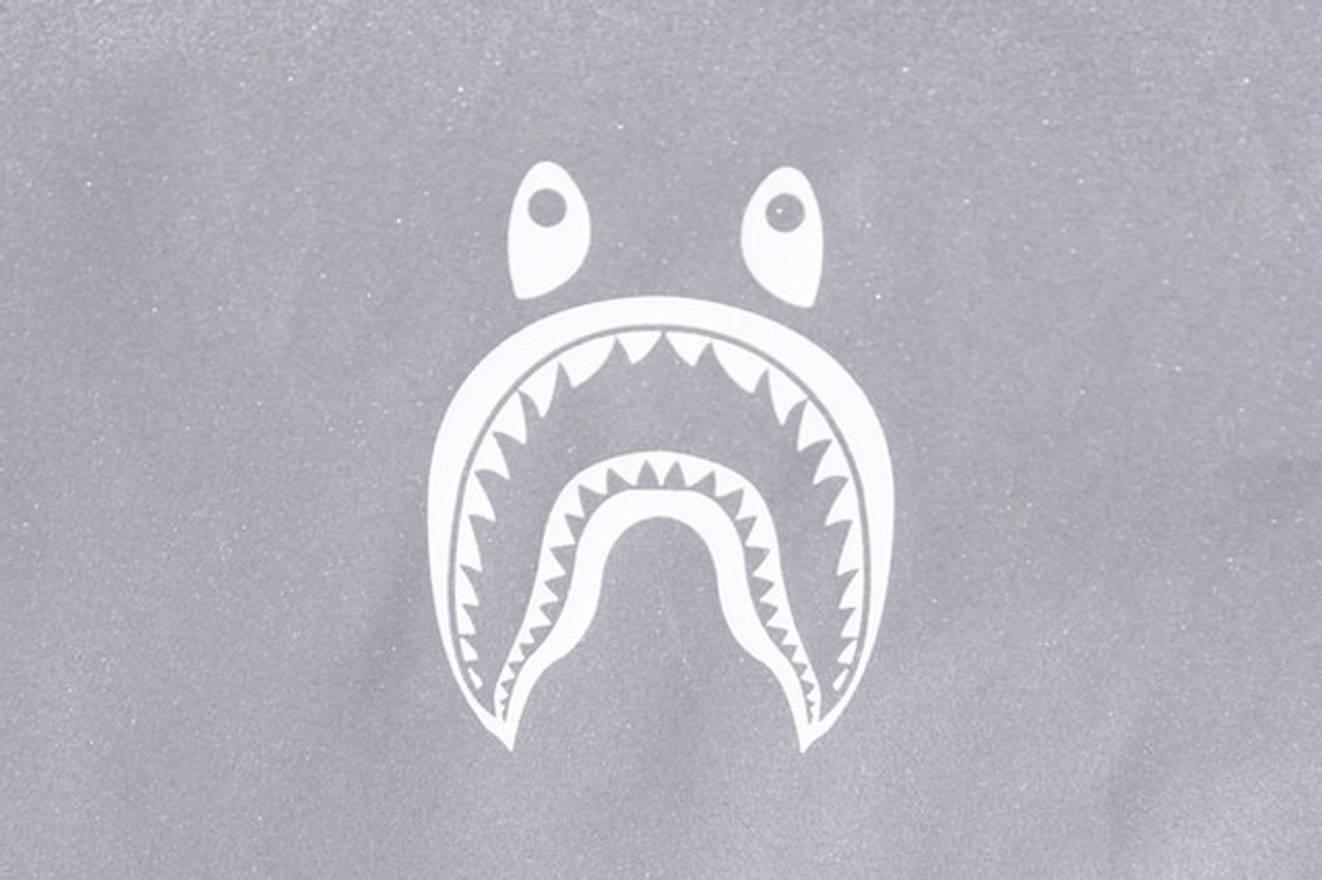 Bape BAPE A BATHING APE SHARK HOODIE REFLECTIVE 3M JACKET XL Size US EU