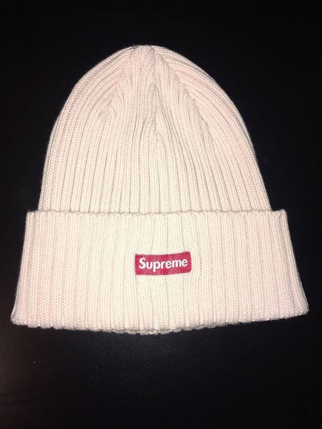 4a82d923a32 ... low cost supreme supreme overdyed ribbed beanie light pink size one  size 29ce6 70a35