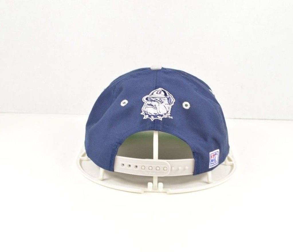 more photos f1cb6 d5d48 usa golden arrow dad hat 2cb99 8ecbf  where can i buy vintage vintage 90s  the game georgetown hoyas spell out snapback cotton dad