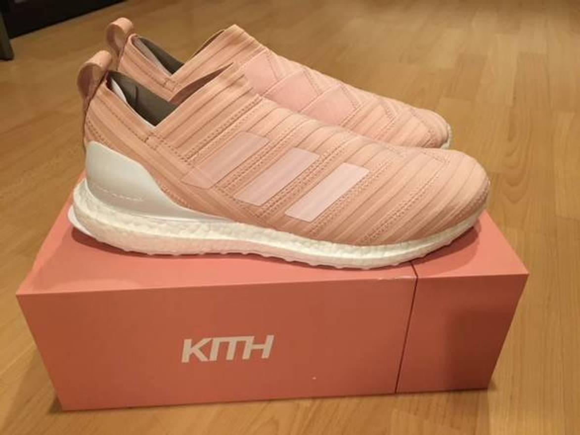 watch 9a891 61774 ... 16 purecontrol ultra boost flamingo b06fa 0a5dc  best price kith nyc kith  x adidas nemeziz 17.1 flamingo ultra boost size us 11 eu
