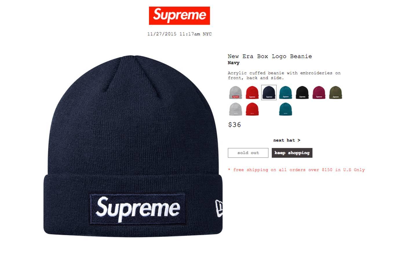 2de906761f4c3 shopping supreme new era box logo beaniefw17ice blue 4beca d23f6  new  zealand supreme supreme bogo beanie navy size one size 07803 82d52