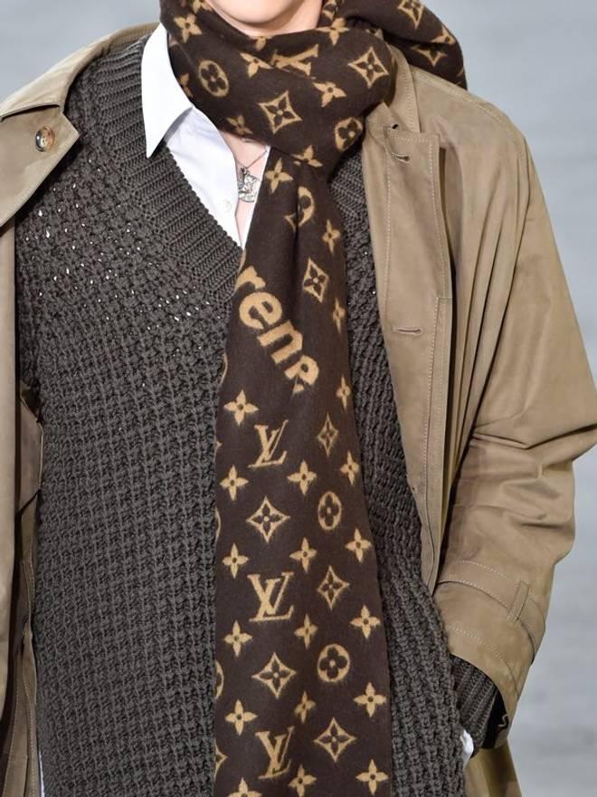 Supreme Louis Vuitton X Scarf Size ONE SIZE