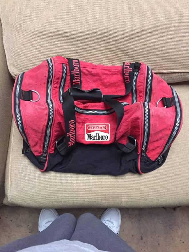 Marlboro Vintage Duffle Bag Size One