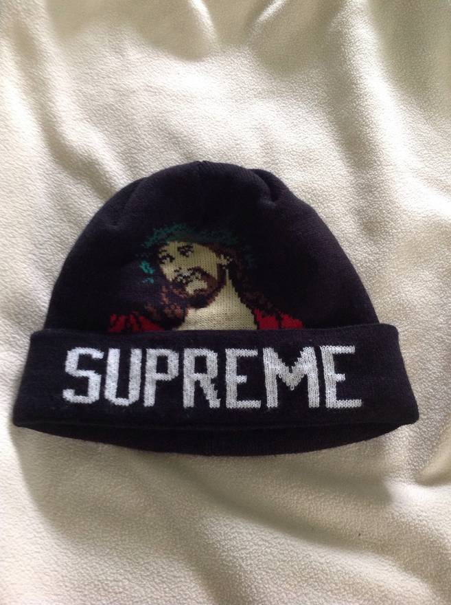 a1a30bc64ea ... inexpensive supreme jesus beanie size one size fc293 f302a
