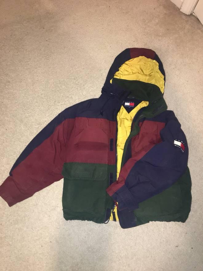 Tommy Hilfiger Vintage Tommy Hilfiger Color Blocked Jacket Size L