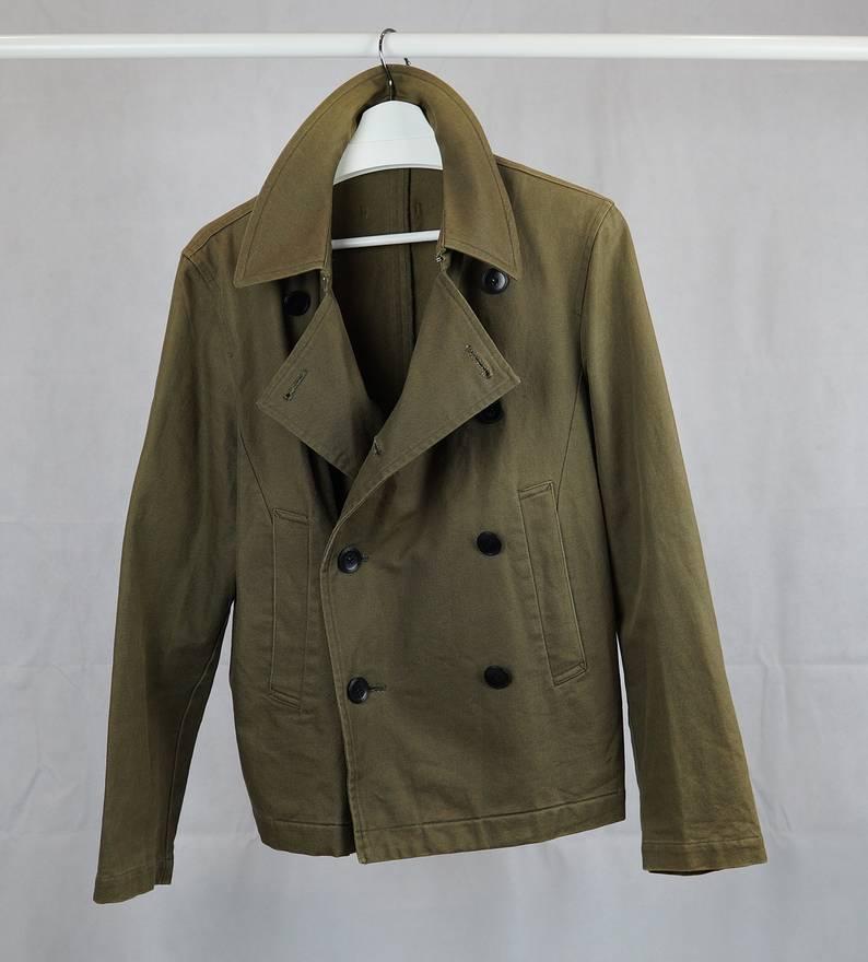 Jean Paul Gaultier Short Wool Coat