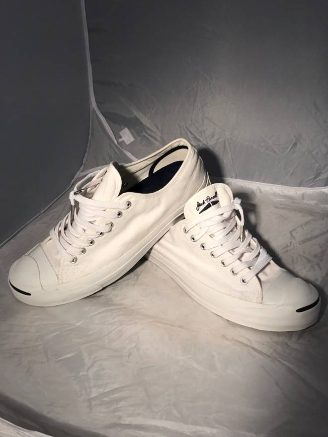 chuck taylor jack purcell size 10 low top sneakers for sale grailed