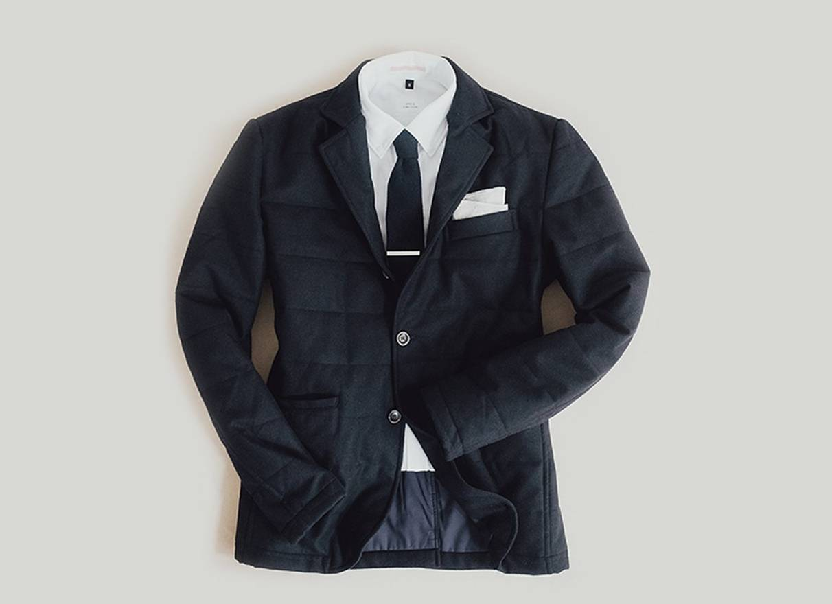 just to en on blazer quilt p quilted zoom image click black the