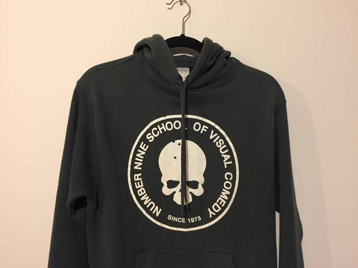Well known Number (N)ine number nine skull hoodie Size l - Sweatshirts  JJ28