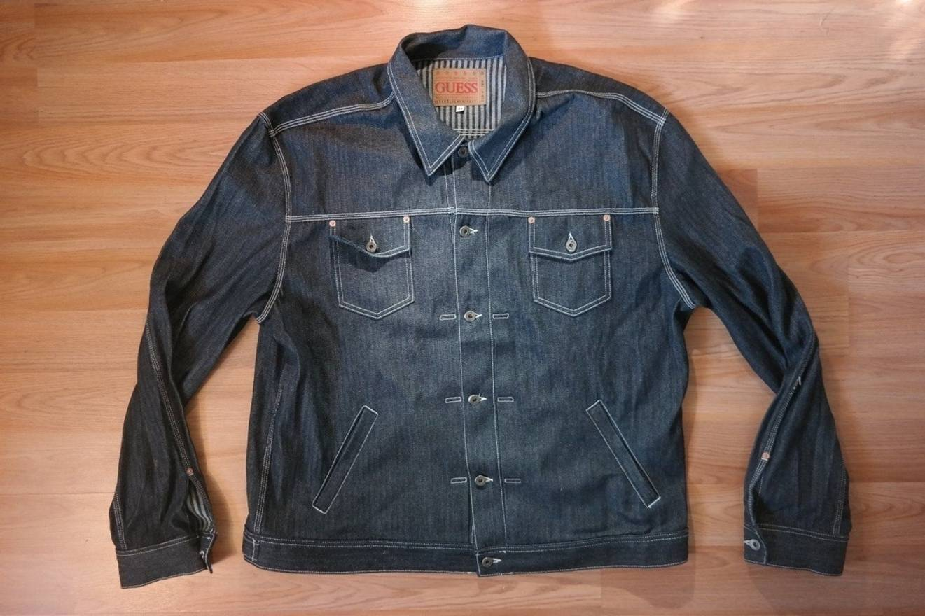 Guess Guess Vintage Denim Jacket 4x Size Xxl Denim Jackets For