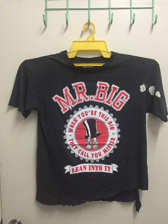 Vintage mr big shirt / size large