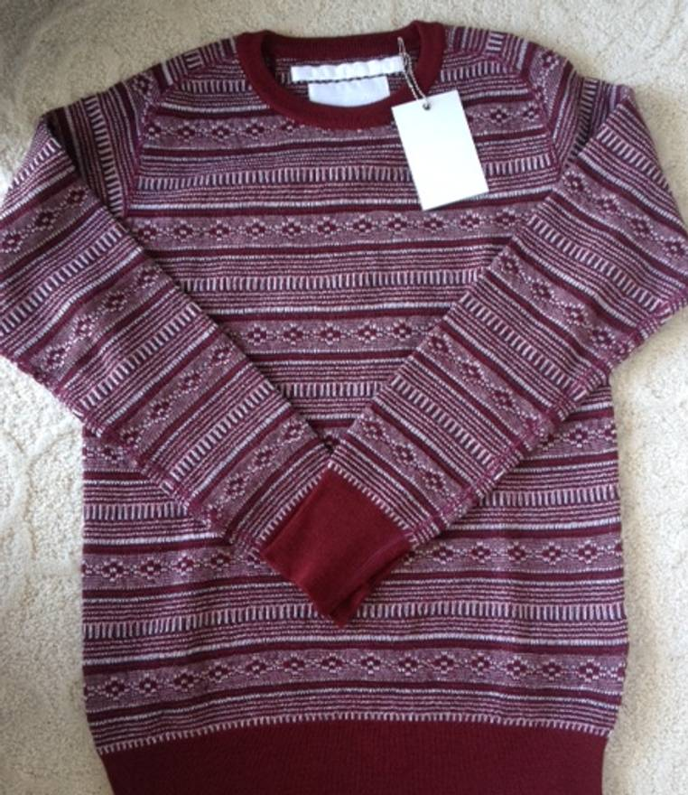 White Mountaineering Fair Isle Sweater Size s - Sweaters ...