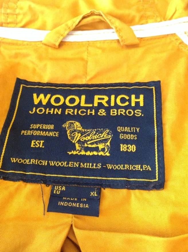 Woolrich Mountain Parka Yellow