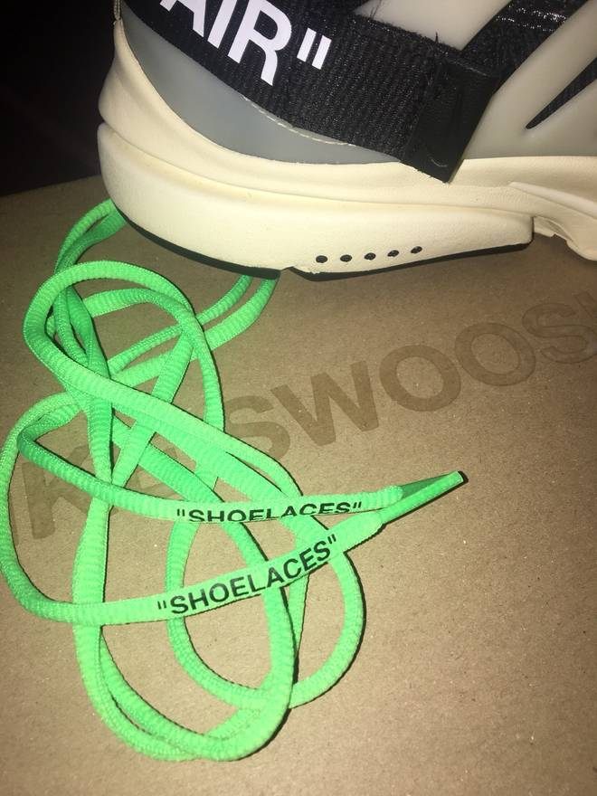 e90dfdc8a113d4 Nike Off White Nike Shoelaces Size ONE SIZE .