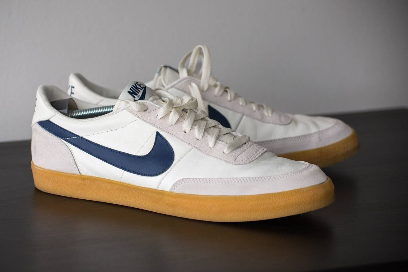 Details about DS Nike J. Crew Mens Killshot 2 Sneakers Leather Suede Shoes 432997 107 Size 11