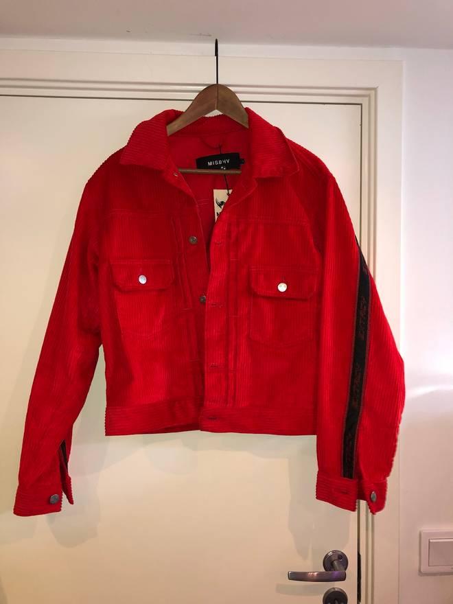 Misbhv red extacy cordoroy trucker jacket size l denim jackets for misbhv red extacy cordoroy trucker jacket size us l eu 52 54 3 voltagebd Gallery