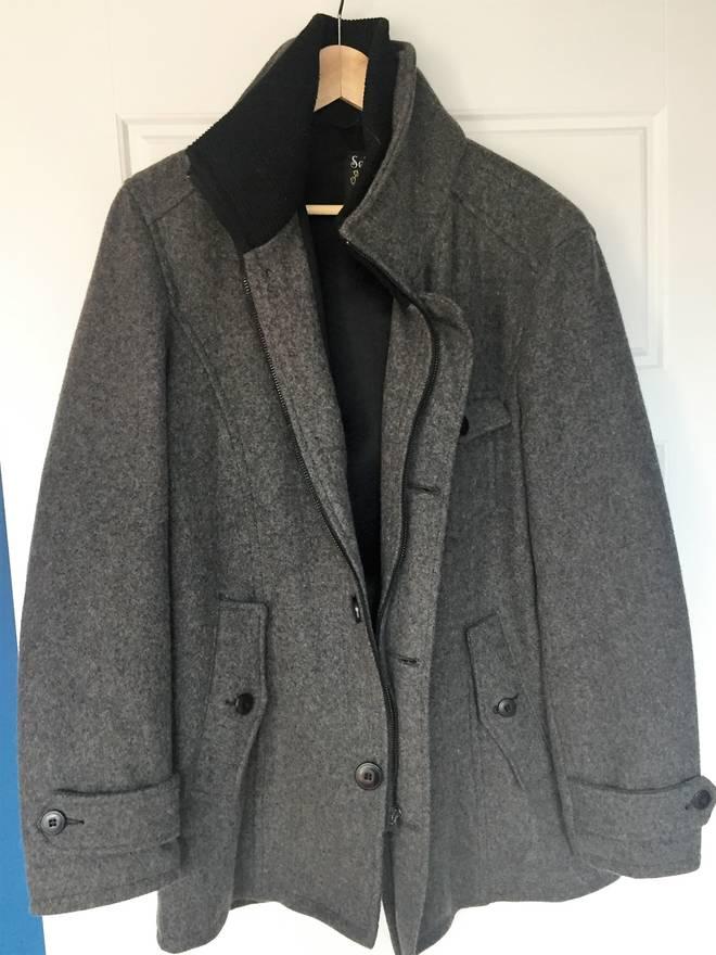 Schott NYC Wool Car Coat STYLE DU738 Size l - Heavy Coats for Sale ...