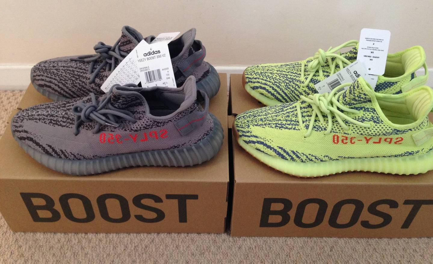 fc29f2f431fdd ... amazon adidas kanye west adidas yeezy boost 350 v2 semi frozen yellow  beluga 2.0 nike 854d7