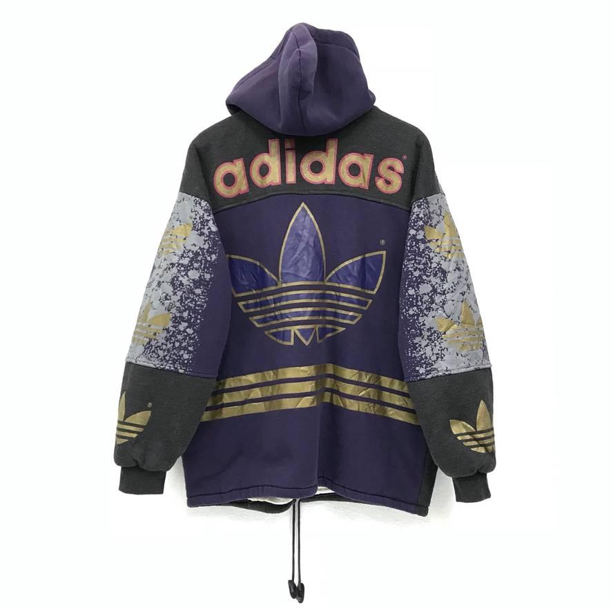 Adidas invierno Adidas 13179 con capucha multicolor grande invierno suéter bomber chaqueta grande 6efd742 - immunitetfolie.website
