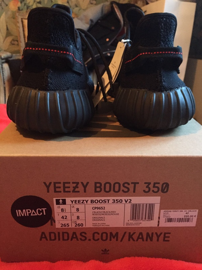 yeezy boost 350 v2 bred size 8.5