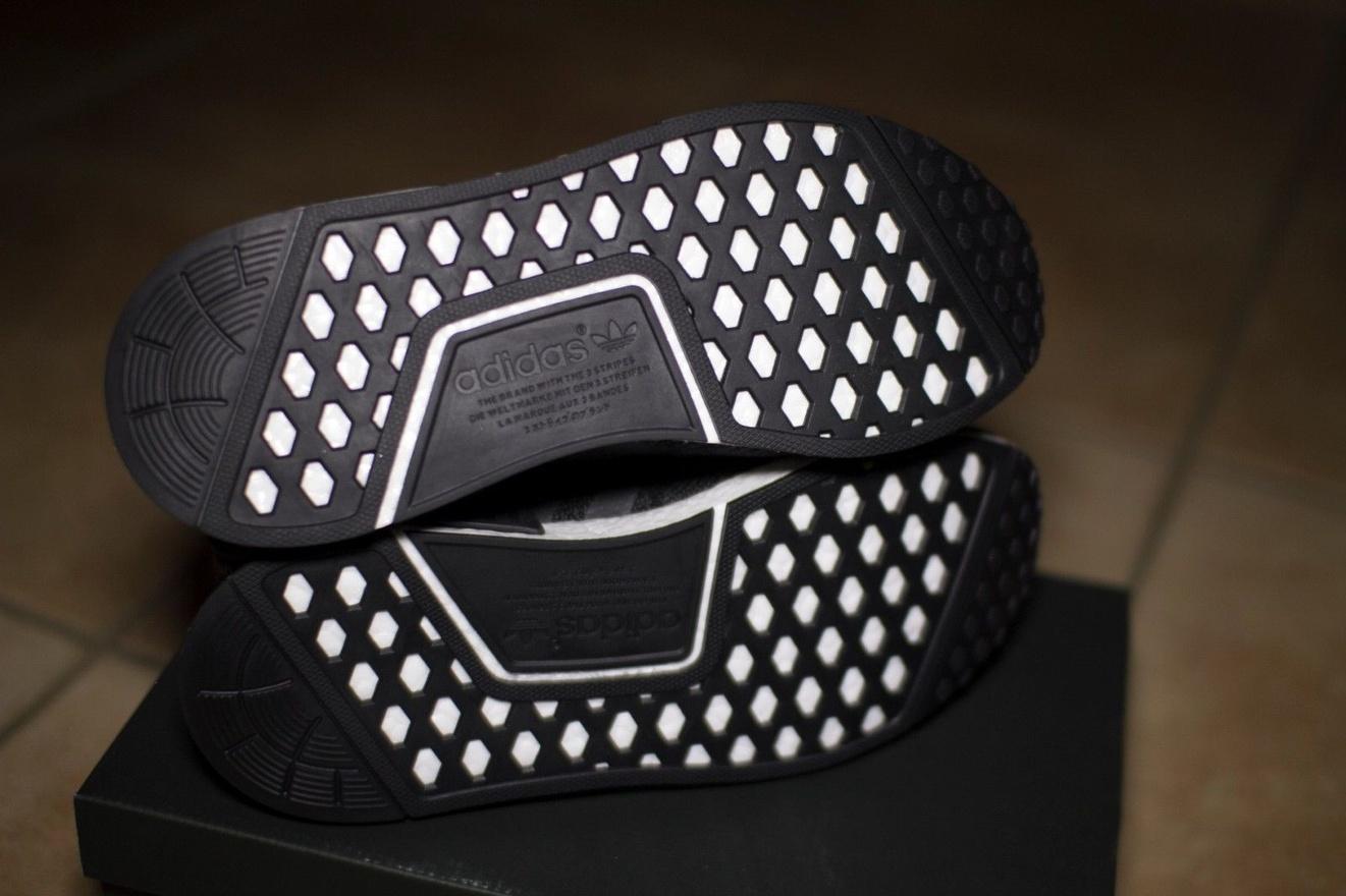 BAPE x Adidas NMD R1 COLLAB GREEN CAMO US 5.5 OLIVE