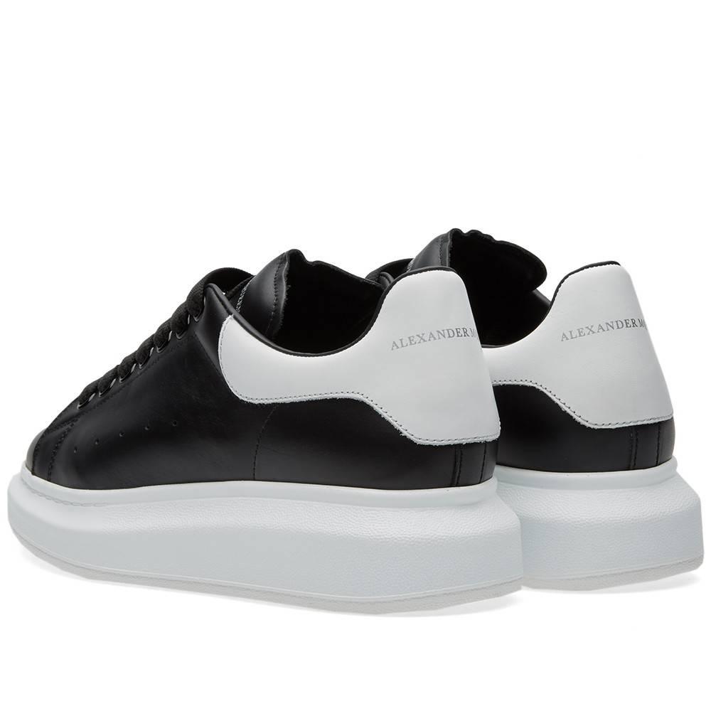 White Black Oversized Hi Top Sneakers Alexander McQueen HgSY08ybnJ