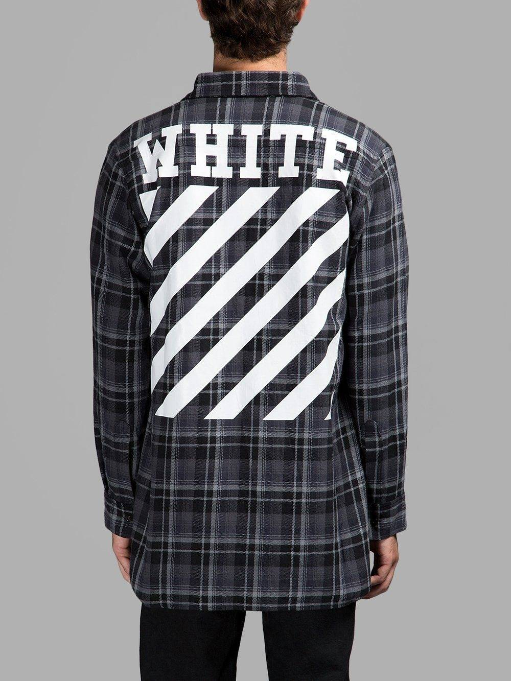Image result for off white flannel