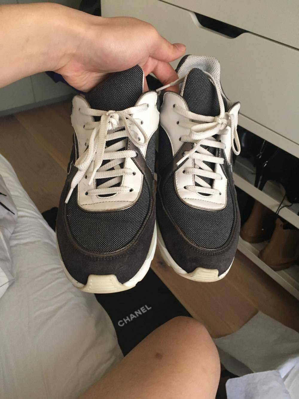 chanel runners. chanel runners size us 6.5 / eu 39 s