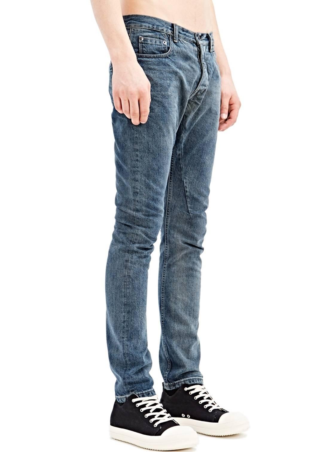 Detroit jeans - Blue Rick Owens W2rQXyil