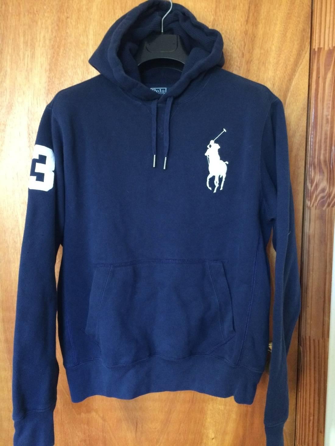 Rare polo Ralph Lauren small pony jacket full zipper L size 6JTh2S
